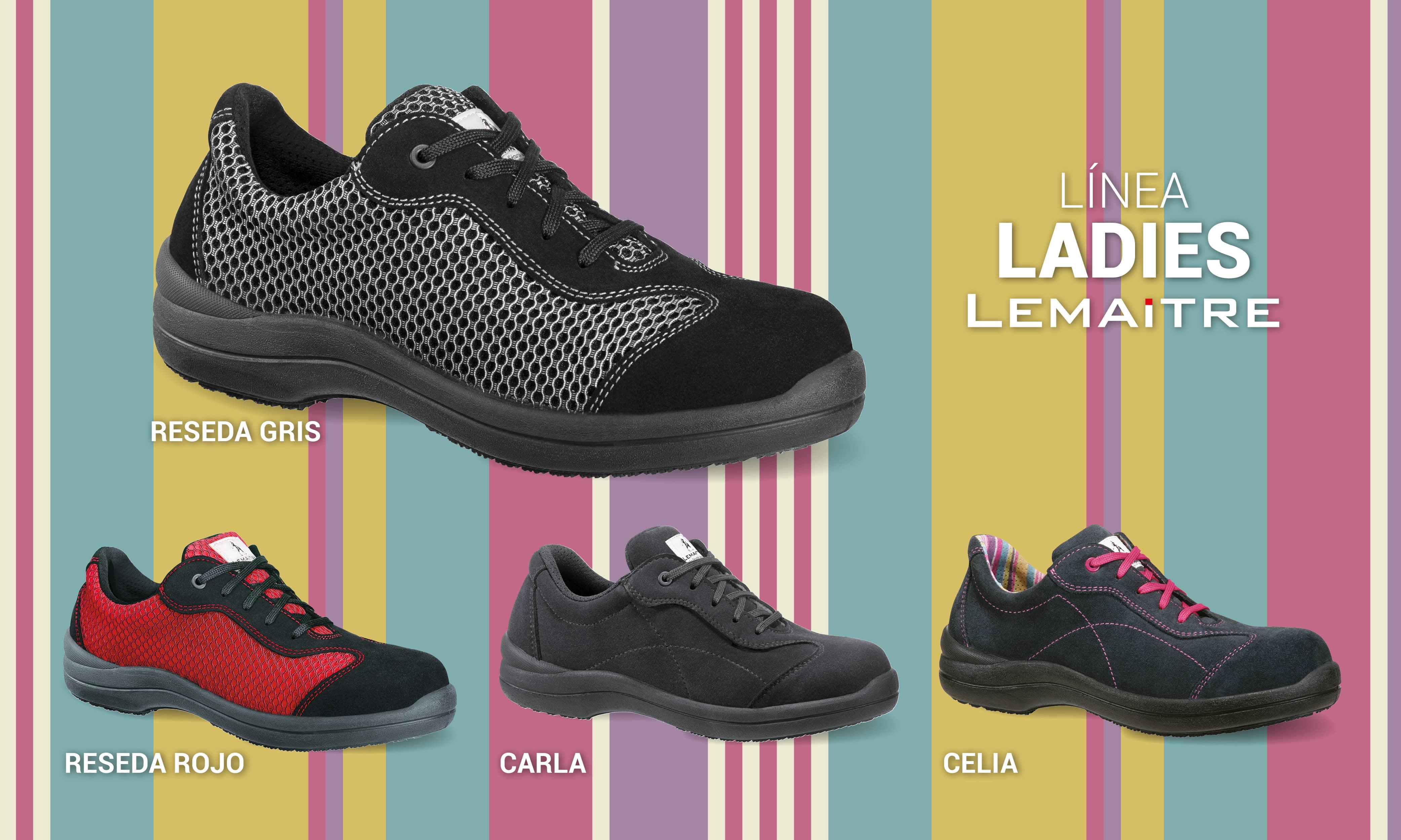 Calzado de seguridad para mujeres / Linea Ladies de Lamaitre