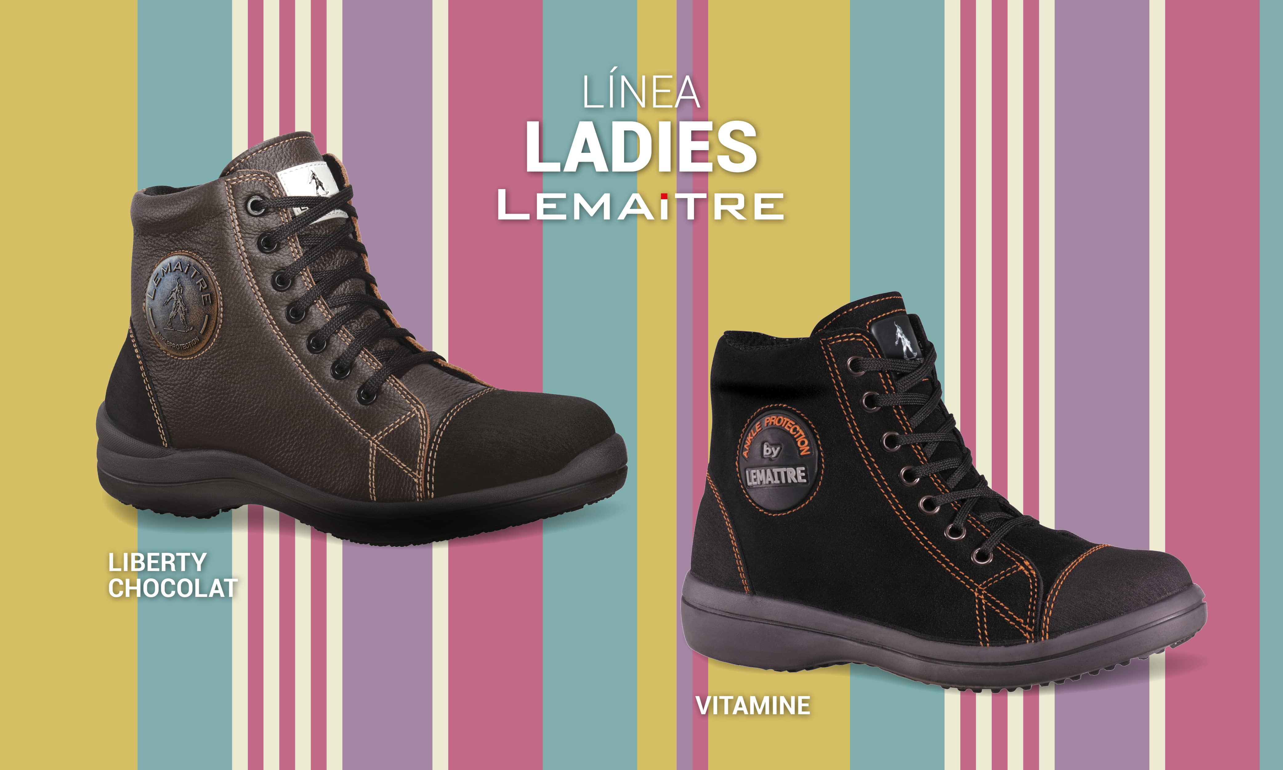 Calzado de seguridad para mujeres / Lamaitre