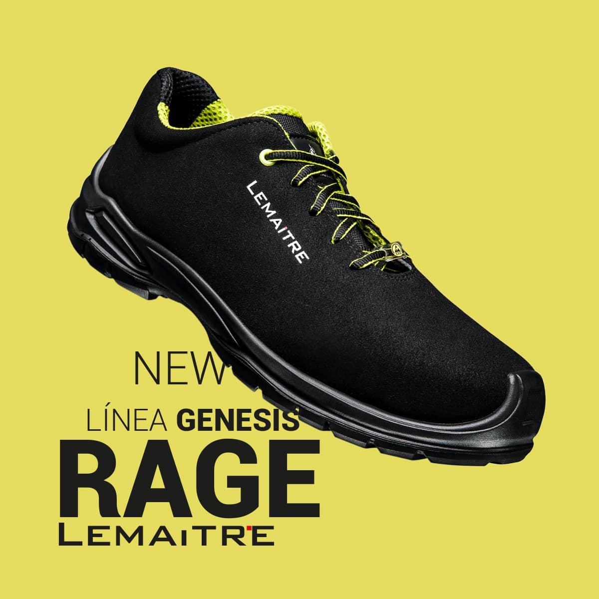 Rage Linea Genesis de Lemaitre